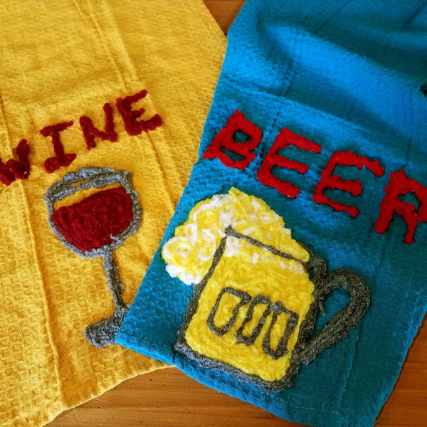Kitchen Towel-Beer