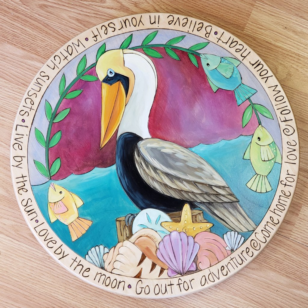 "Sticks Lazy Susan 20""-Pelican (B)"