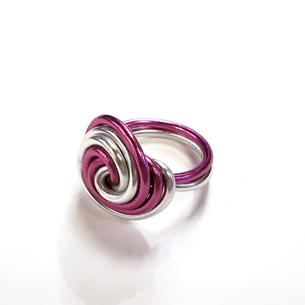 Galaxy Anodized Aluminum Ring