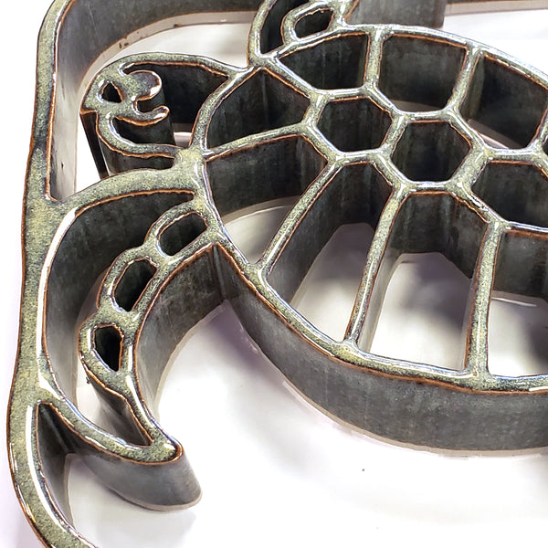 Ceramic Trivet-Sea Turtle