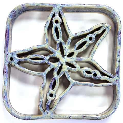 Bay Pottery Starfish Trivet