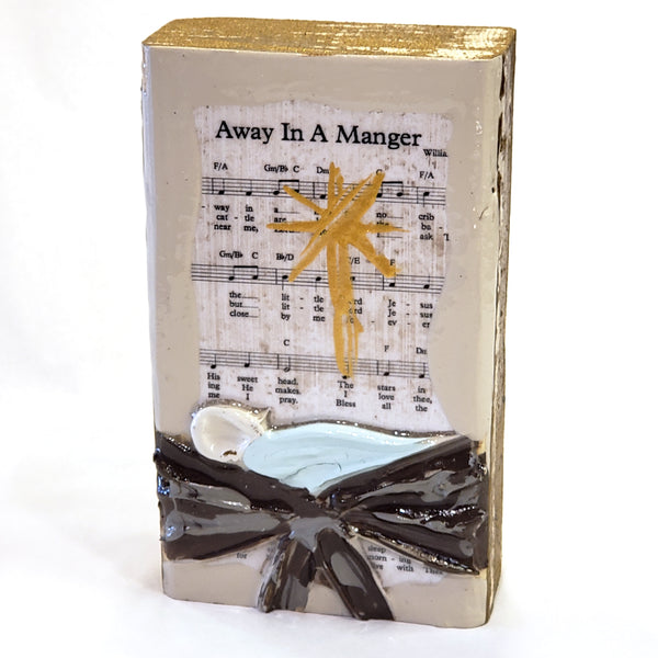 Sheet Music  Art-Away in a Manger