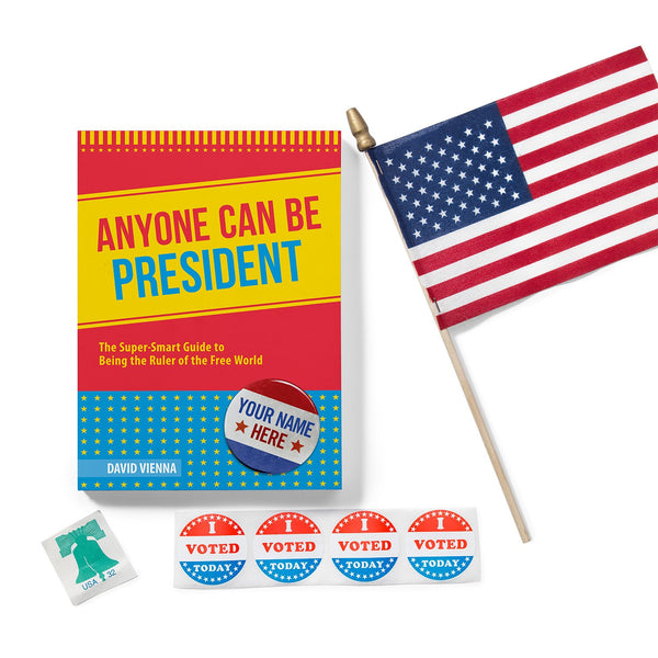 Book-Anyone Can Be President