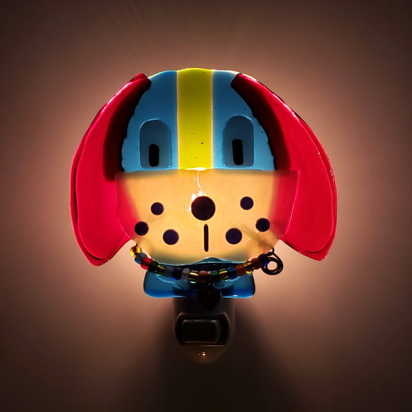 Glass Nightlight-Dog