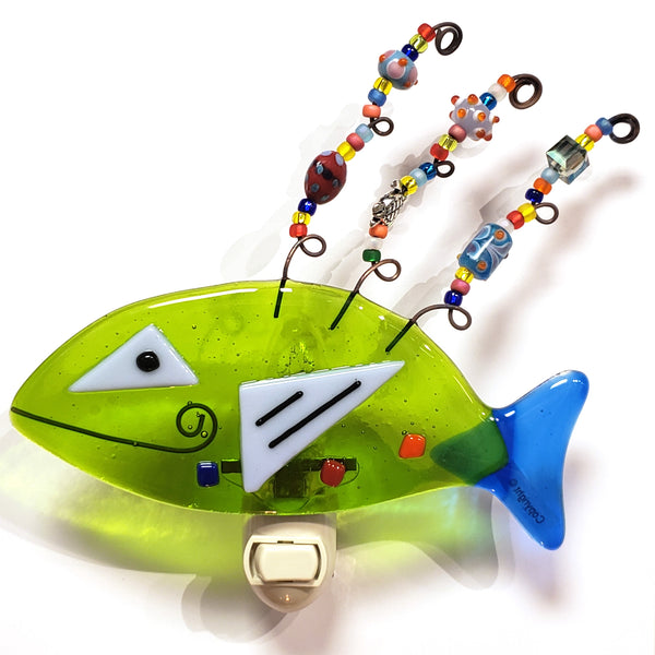 Glass Nightlight-Fish