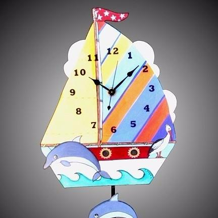Sailboat Clock
