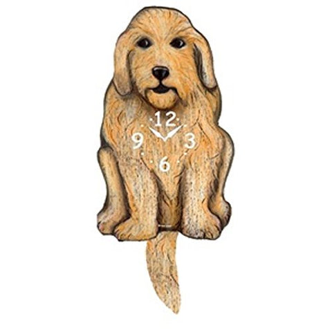 Tail Wagging Clock-Labradoodle