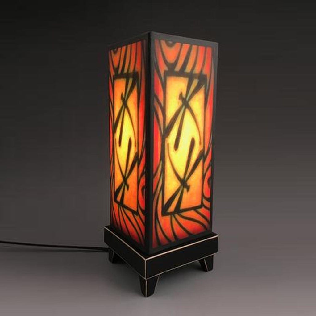 Accent Lamp-Brown Dragonfly