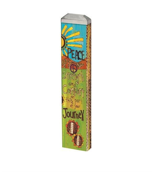 Mini Art Pole-Peaceful Journey