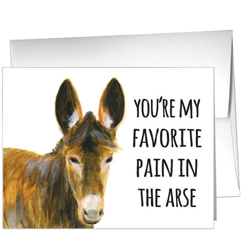 Card-Pain in the Arse
