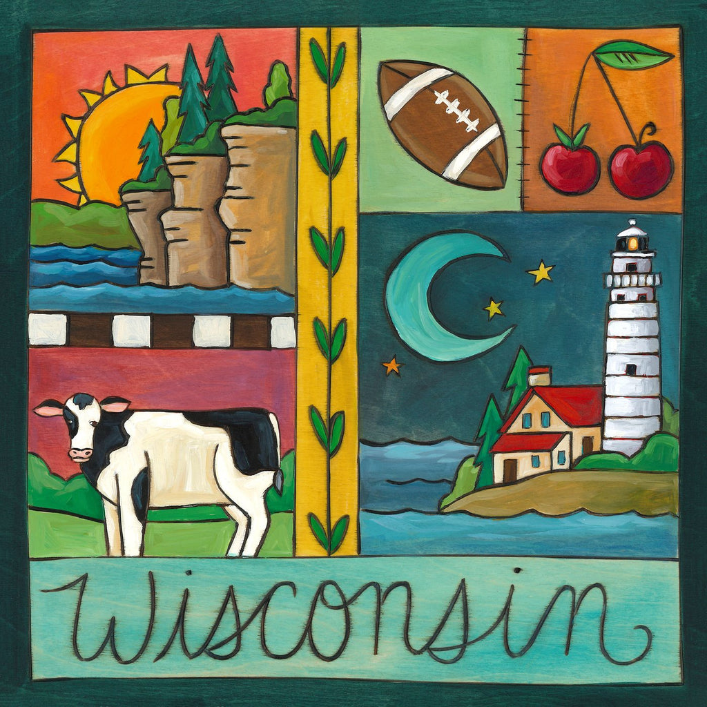 Wisconsin Plaque-Badger State