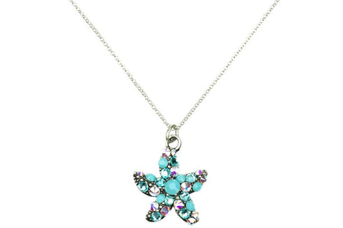 Turquoise Starfish Necklace