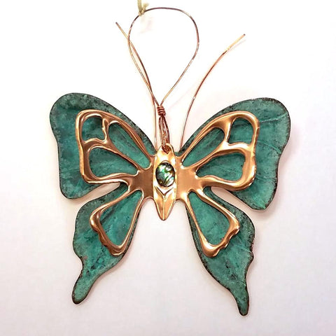 Copper Ornament-Butterfly