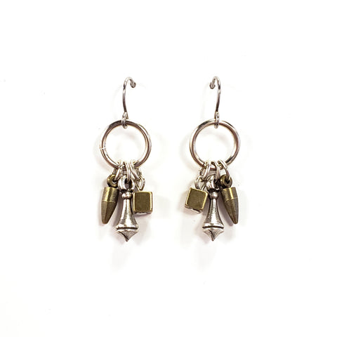 Finial Drop Earrings