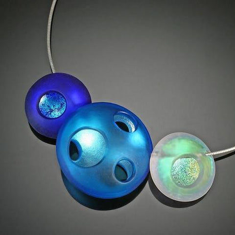 Four Seasons Orb Necklace-Winter