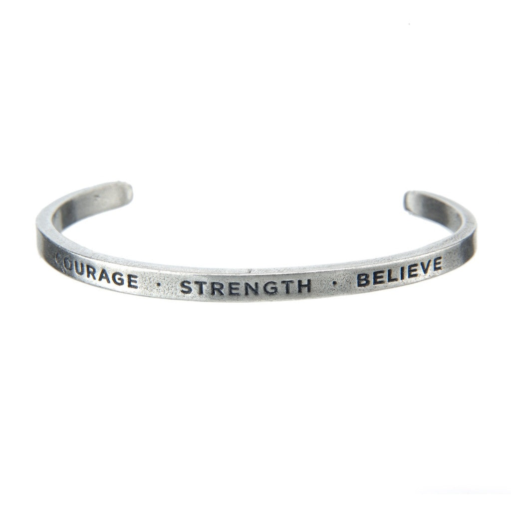 Cuff Bracelet-Courage & Strength