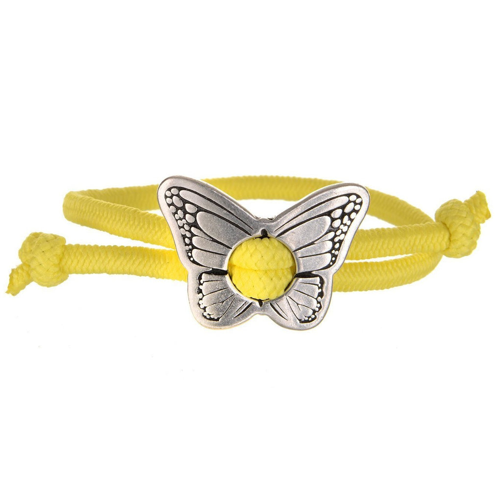 butterfly toggle bracelet hair tie
