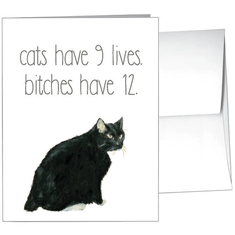 Card-Cats 9 Lives