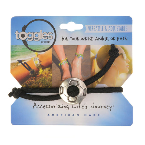 Toggle Bracelet-Soccer Ball