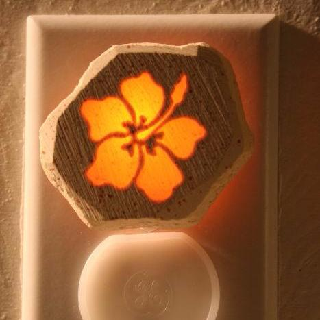 Glow Nightlight-Hibiscus