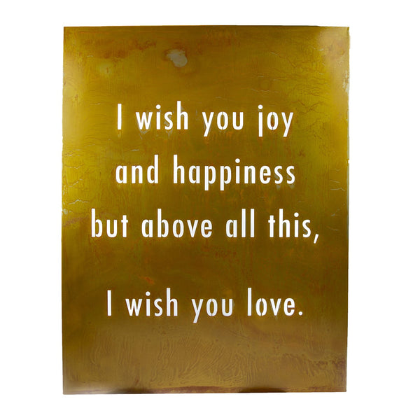 I Wish You Joy Wall Art