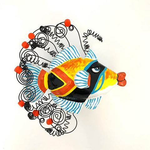 Fish Wall Sculpture - Humuhumu