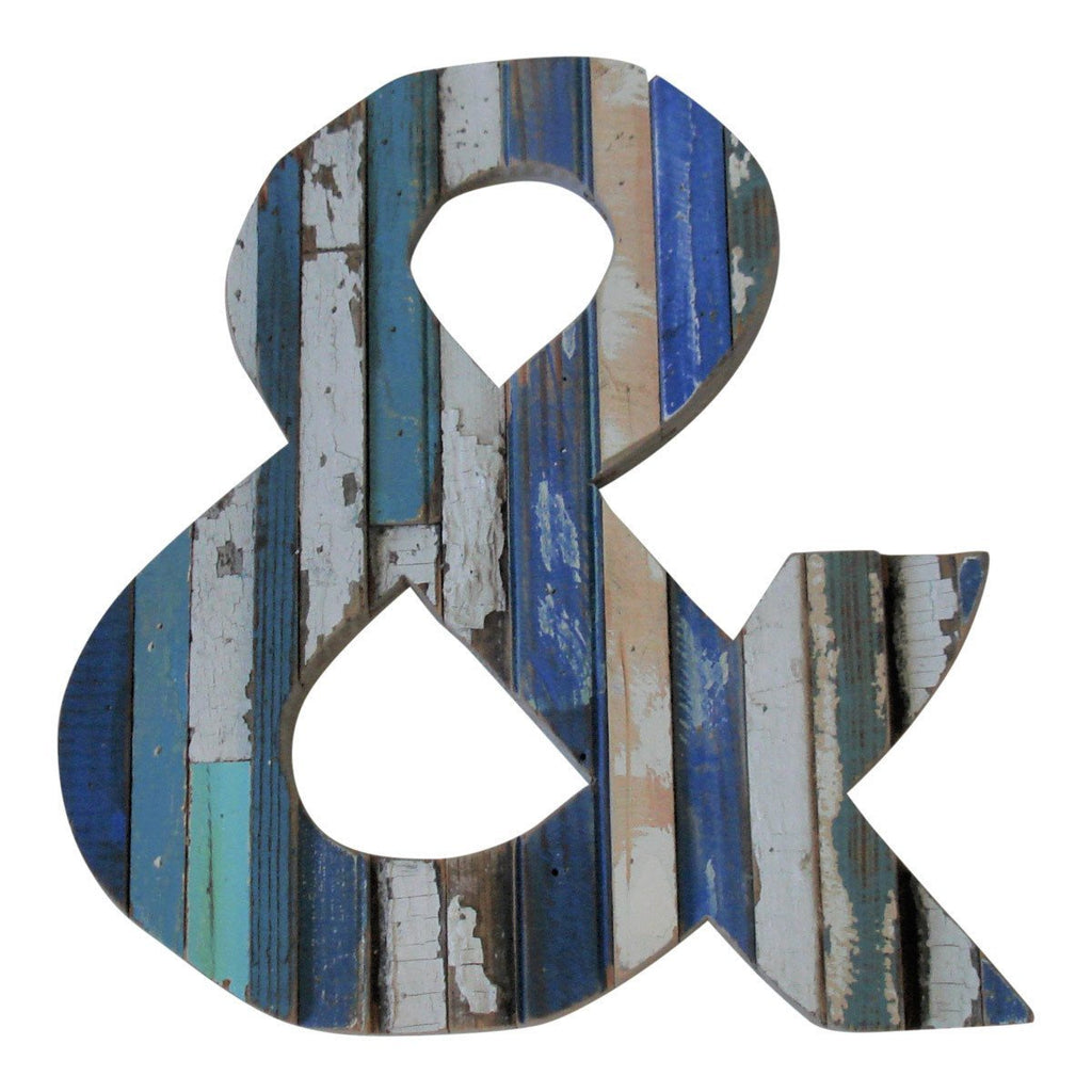 Wood Ampersand-Coastal