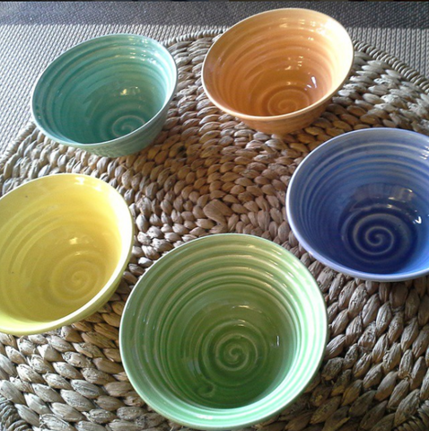 Cereal Bowl-Bright Colors
