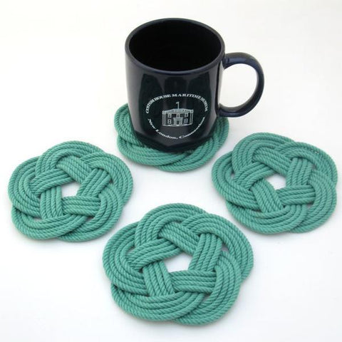 Nautical Sailors Knot Coasters