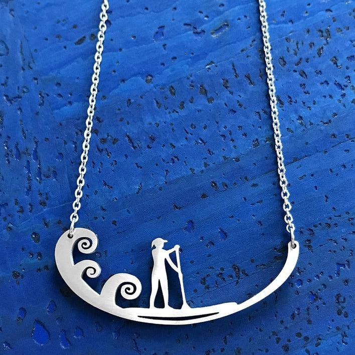 Paddleboard Necklace