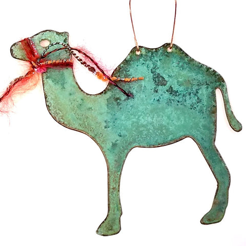 Copper Ornament-Camel