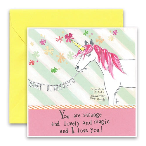 Card-Unicorn Birthday