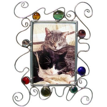 Curly Q Picture Frame