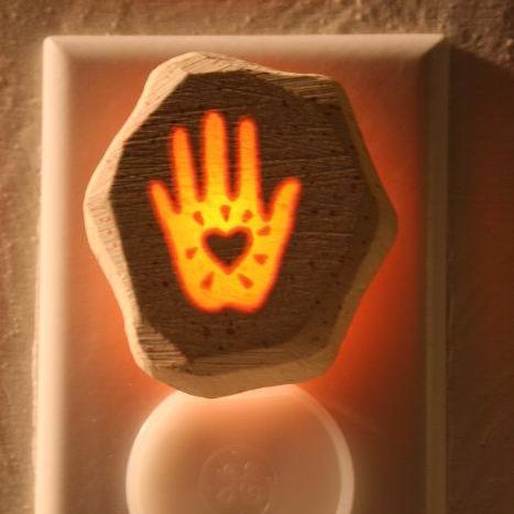 Glow Nightlight-Loving Hand