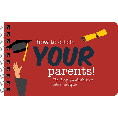 How to Ditch Your Parents Book