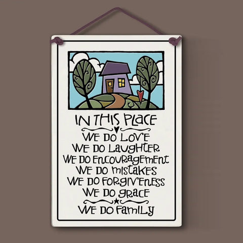 In This Place Wall Plaque