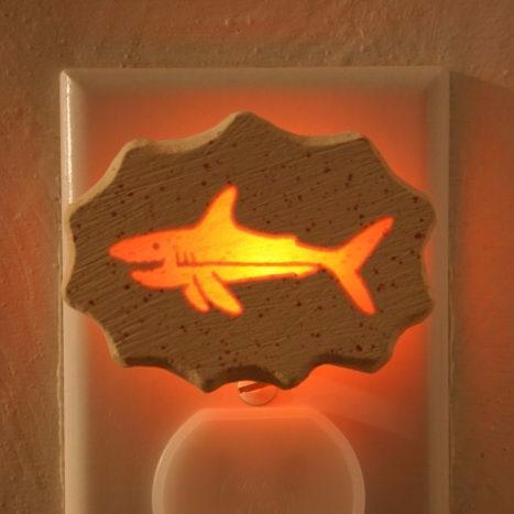 Glow Nightlight-Shark