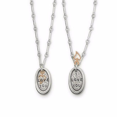 I Love You Necklace | Kathy Bransfield | Random Acts of Art | Naples Florida