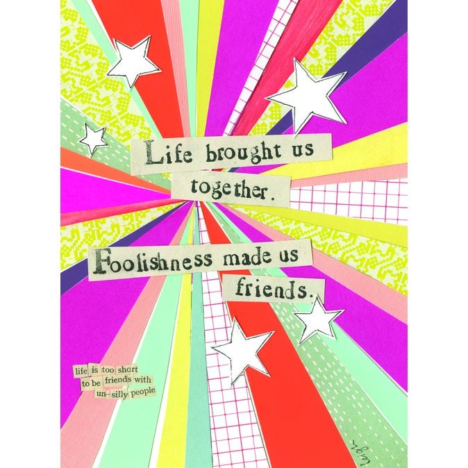 Card-Foolishness & Friendship
