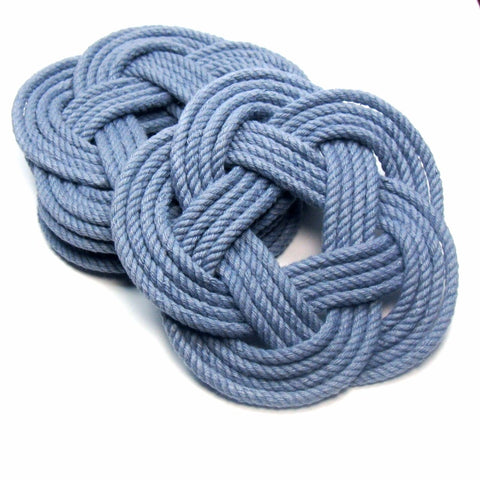 Sailor Knot Coasters-Blue