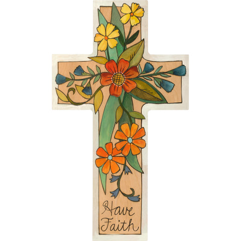 Cross Plaque-Grow Faith