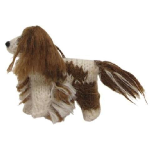Hand Knit Dog Ornament-CKC Spaniel