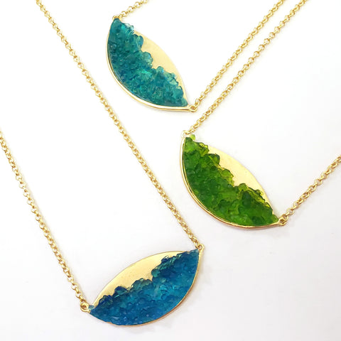 Crashing Waves Necklace