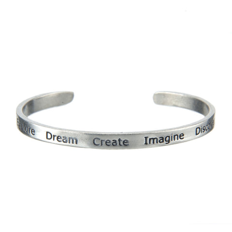 Cuff Bracelet-Dream & Explore