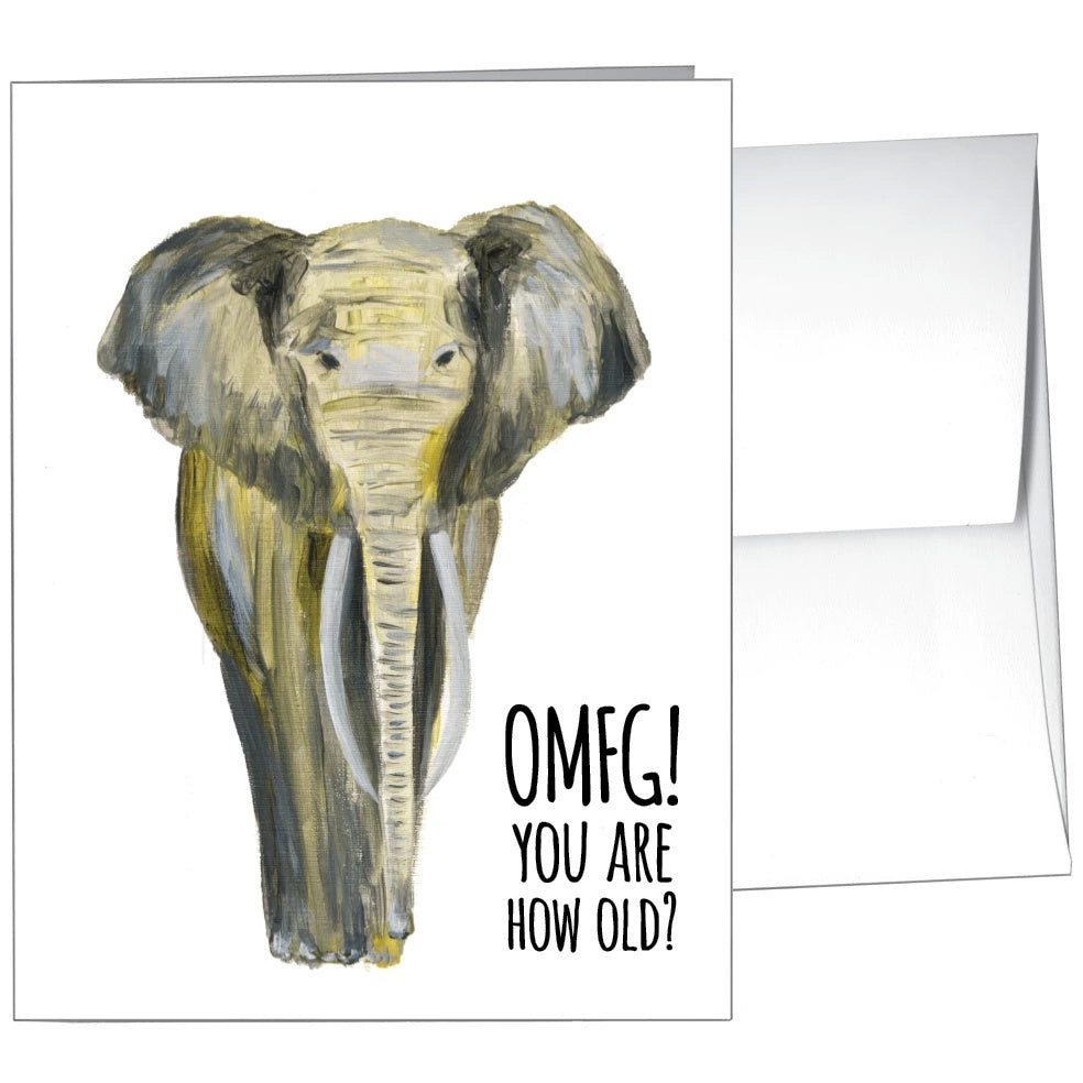 Card-You Are How Old?