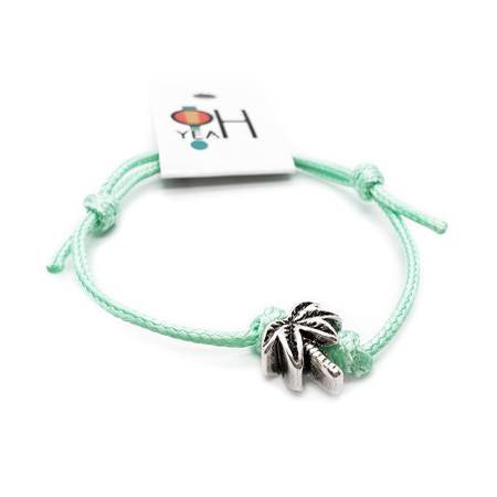Palm Tree Bead Bracelet