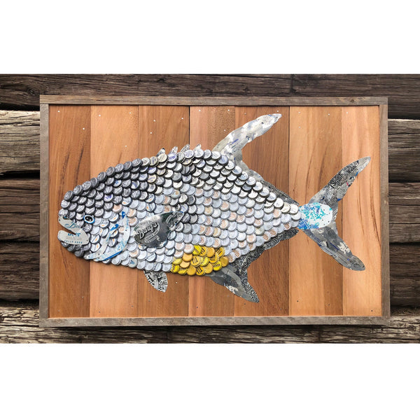 Folk Art Fish-Permit