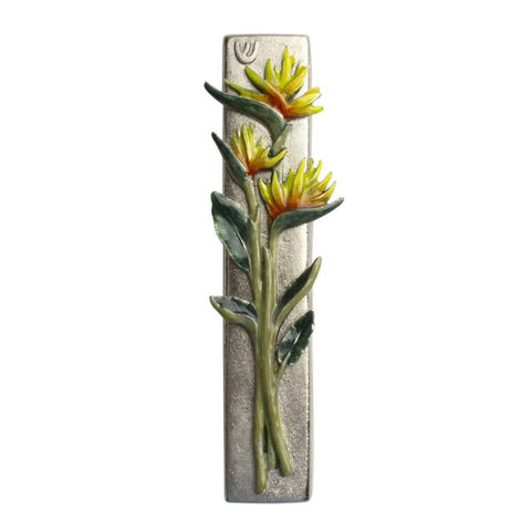 Bird of Paradise Mezuzah