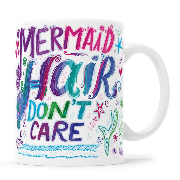 Mermaid Hair Don't Care Mug