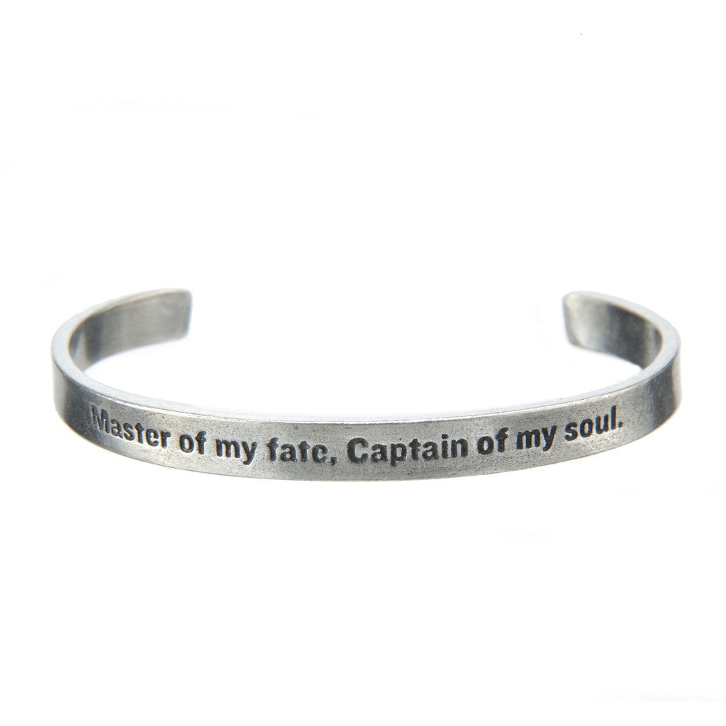 Cuff Bracelet-Master of My Fate